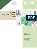 Tarea 6 Teleco2 WLL Wifi - Wimax - LMDS