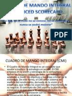 Cuadro de Mando Integral CMI