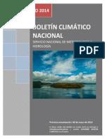 Boletin Climatico Marzo 2014