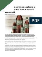 Coca Cola Schimba Strategia Si Investeste Mai Mult in Bauturi Sanatoase. Bussines 24