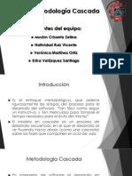 Metodología Cascada e Incremental