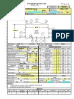 API 650 Tank Design Calculations