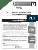 Prova BANCO - CAIXA14