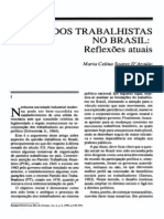 MARIA CELINA DARAUJO - Partidos Trabalhistas No Brasil