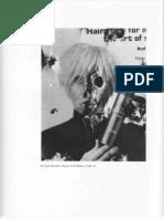 Richard Misrach, Playboy#38 (Warhol), 1989-91.