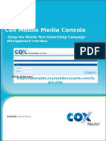 Cox Mobile Media Console User Guide