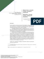 Operaciones Concepto Sistema Estrategia y Simulaci n RESUMEN