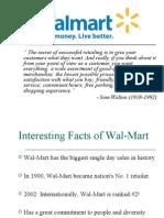 wal-mart service strategies