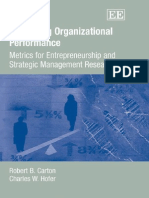 Measuring Organization Research