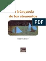 Asimov Isaac - La Busqueda de Los Elementos