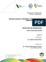 Propuesta Económica Software Simulador Legislativo 1.0