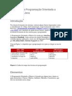 Introdução à Programação Orientada a Objetos Em Java