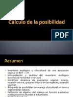 Cálculo de Posibilidad