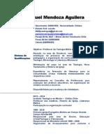 Curriculum Vitae . Prof. Jose Miguel M.aguilera
