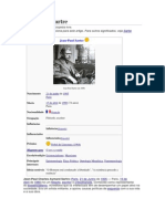 Sartre Wikipédia