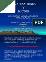 Canalizaciones y Ductos Gerson Alexander Arenas