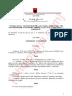 Drafiti i projektligjit të ri për KLD