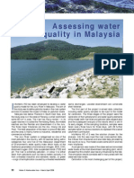 Assessing Water Quality in Water