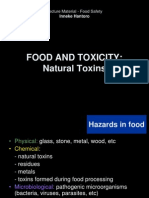 Food and Toxicity-natural Toxins