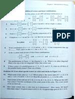 Lista 1.1 (Aula 1) (Vetores,Combinações Lineares)
