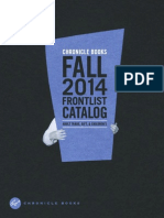 Chronicle Books Fall 2014 Frontlist Catalog