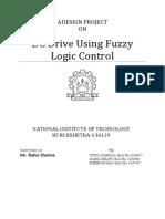 Minor Report dc motor fuzzy controller