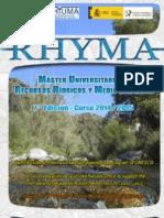 VII Máster Universitario en Recursos Hídricos y Medio Ambiente