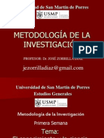 Metodologia 2013-I UNIDAD I