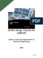 Unisim tutorial - Methanol production