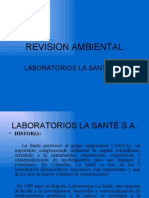 REVISION AMBIENTAL LABORATORIOS LA SANTE