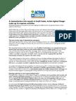 ACF USA Statement on South Sudan - 05 19 14
