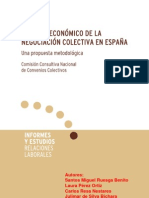 Analisis Economico Negociacion Colectiva