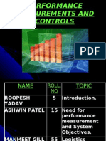 Performance Measurement and Controls