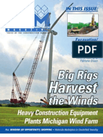 CAM Magazine March 2009, Construction Equipment, Wind Turbines, Excavation, Site Work