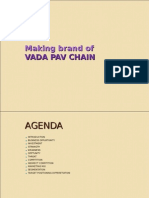 Copy of Making Brand of VADA PAV CHAIN