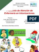 Protocolo de Atención de Enfermaría en Intoxicaciones