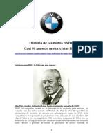 Historia de Las Motos Bmw
