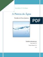 Pureza Da Agua
