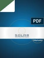 Catálogo Solar Instrumentação