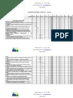 Cronograma Educación Fisica 7