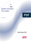 WP-122 Guidelines for Specifying Data Center Criticality - Tier Levels