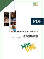 Dossier Prensa Novocine 09