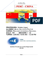 Monografia Tlc Peru - China