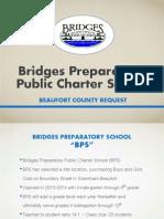 Bridges Prep Sales Tax Project List