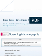 Breast Cancer Screening and Therapy