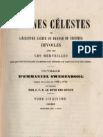 Em Swedenborg ARCANES CELESTES TomeCinquieme 2sur2 Genese XXVetXXVI Numeros 3228 3485 LeBoysDesGuays 1847 1891
