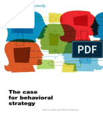 The Case for Behavioral Strategy