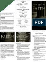 Living the Illuminated Life - Foundations of Faith (4 of 5)
