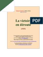 Sembat, La Victoire en Deroute