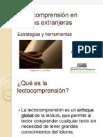 Lectocomprensión en lenguas extranjeras.ppt